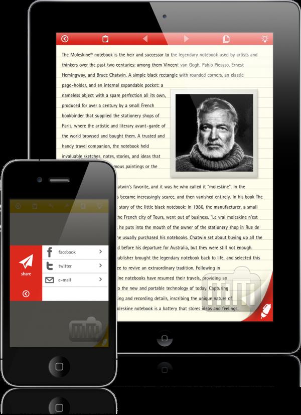 Moleskine - iPhone e iPad
