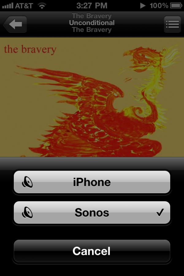 Sonos com AirPlay