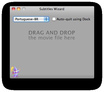 Subtitles Wizard - Mac OS X