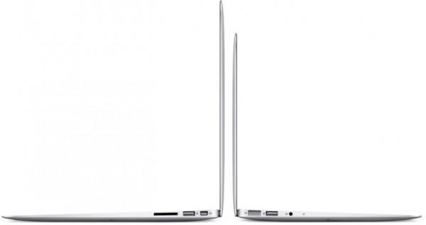 MacBooks Air de lado