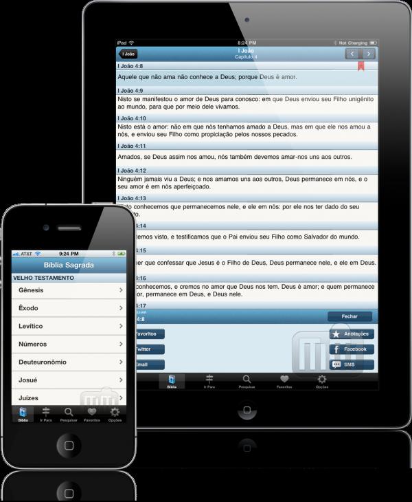 Bíblia Sagrada - iPhone e iPad