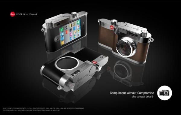 Conceito Leica i9 para iPhone