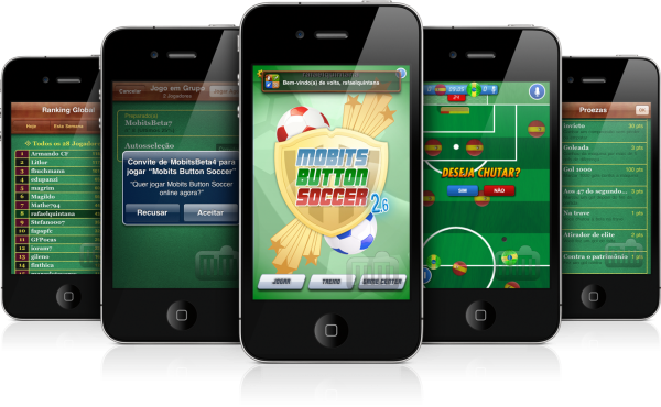 Mobits Button Soccer - iPhones