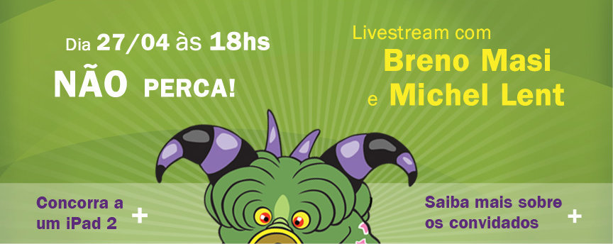 Evento online da Monster Brasil