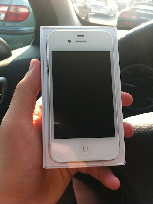 iPhone branco belga