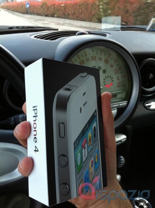 iPhone branco italiano