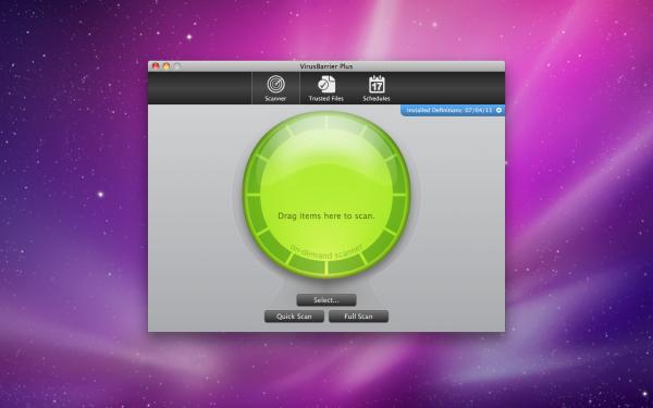 VirusBarrier Plus - Mac OS X