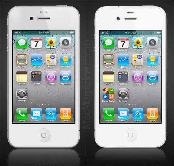 Sensor do iPhone 4 branco