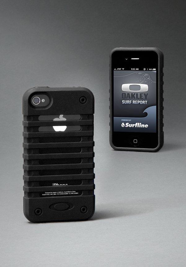 Case de Unobtainium da Oakley para iPhone 4