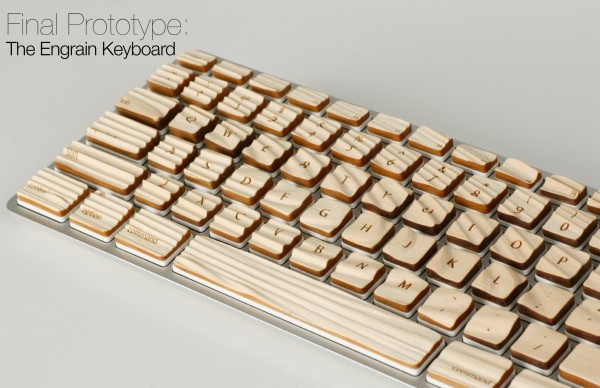 Engrain Keyboard - protótipo final