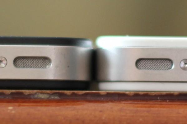 Espessura de iPhones