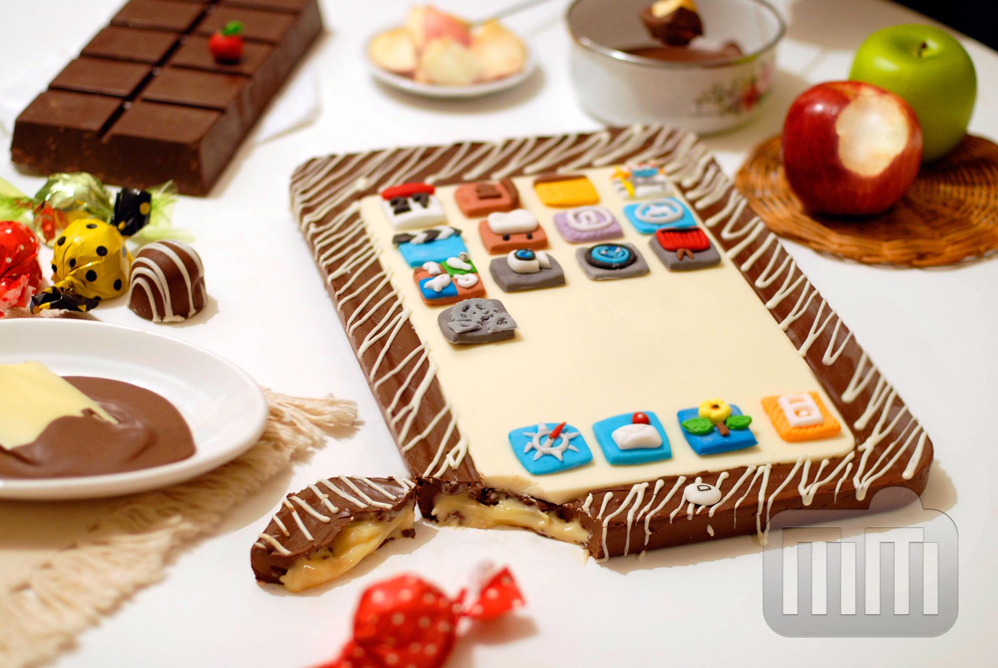 Torta de iPad