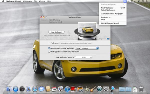 Wallpaper Wizard - Mac OS X
