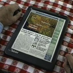 iPad previsto pela Knight-Ridder