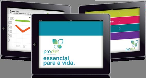 App da Prodiet para iPad
