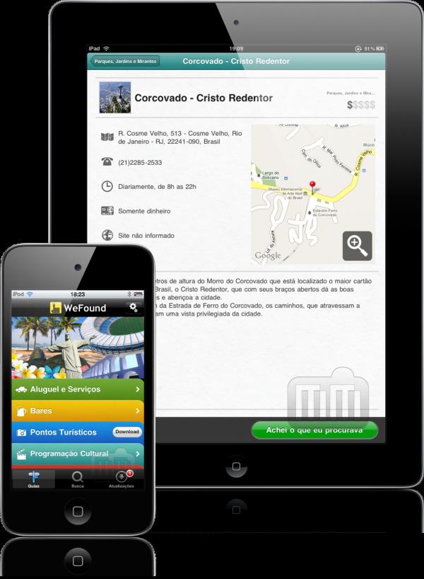 WeFound - iPad e iPhone