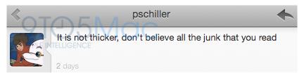 Tweet de Phil Schiller sobre iPhone 4 branco