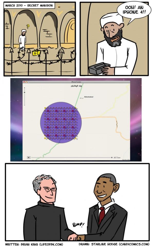 Apple e EUA contra Osama Bin Laden