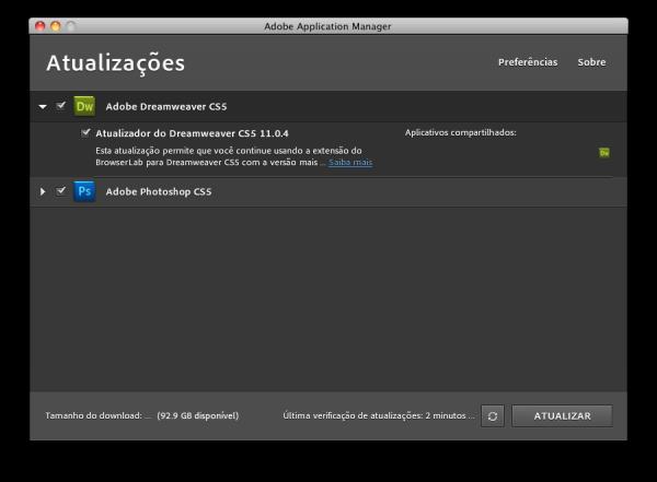 Atualizações da Adobe — Maio 2011
