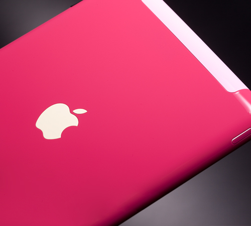 iPad 2 rosa, by ColorWare