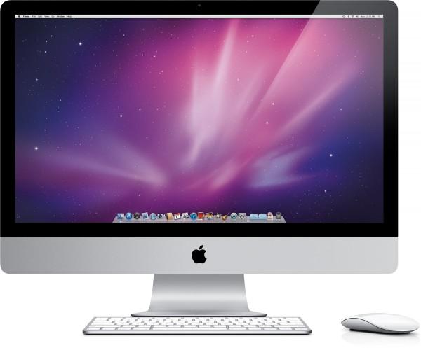Novo iMac de frente