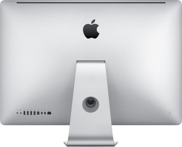 Traseira do novo iMac