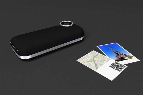 iPhone Polaroid Concept