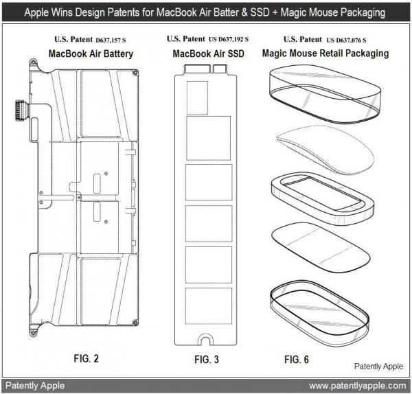 Bateria e SSD do MacBook Air - Embalagem do Magic Mouse