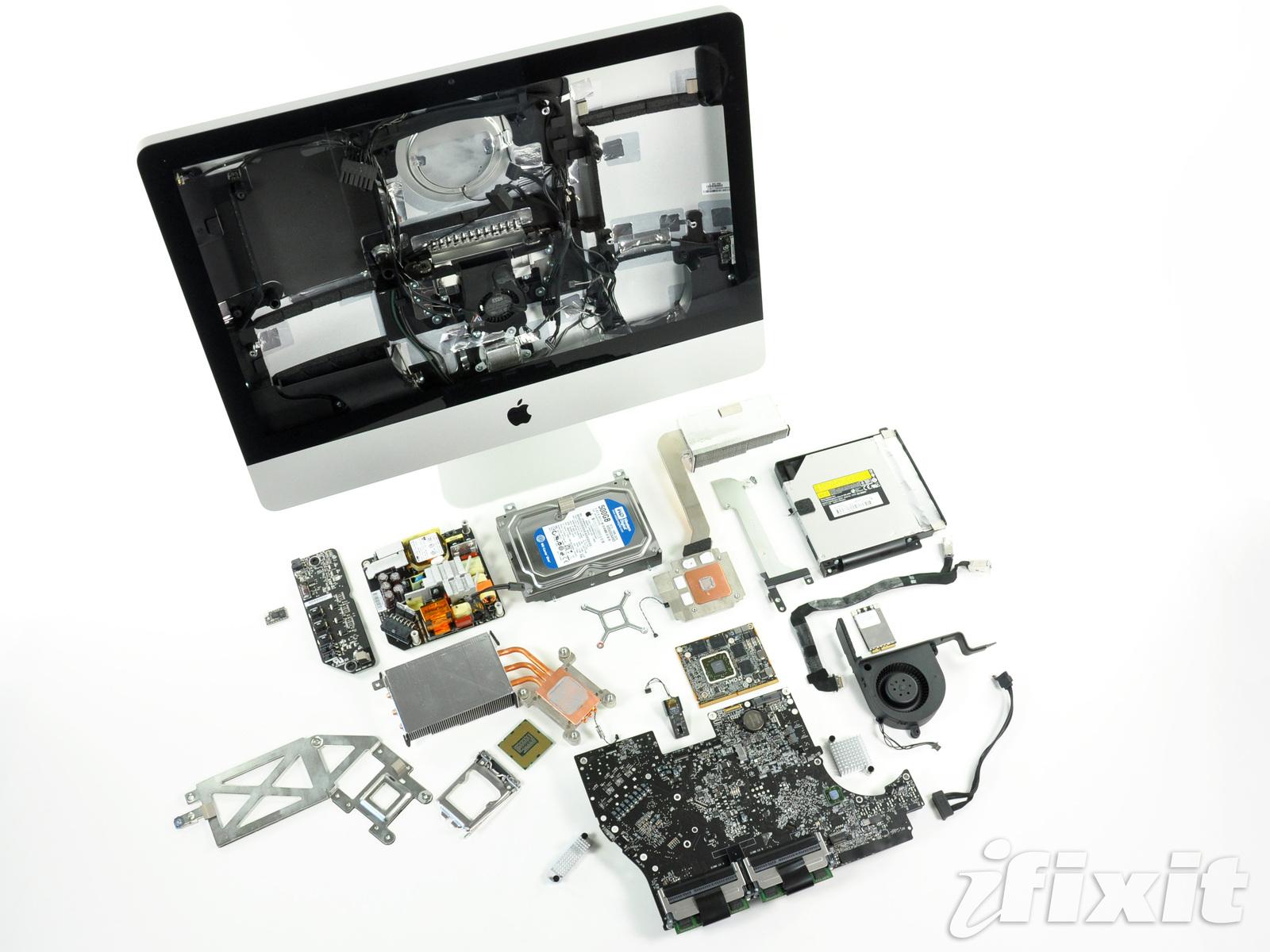 iMac na iFixit