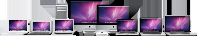 Toda a família atual de Macs