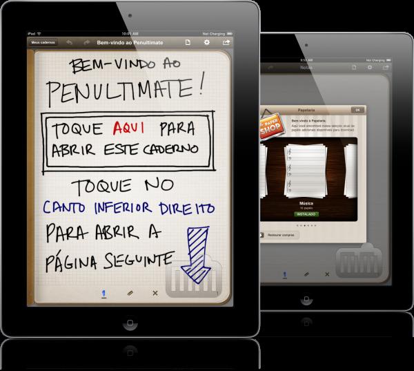 Penultimate em iPads