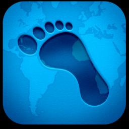 Ícone do Footprints