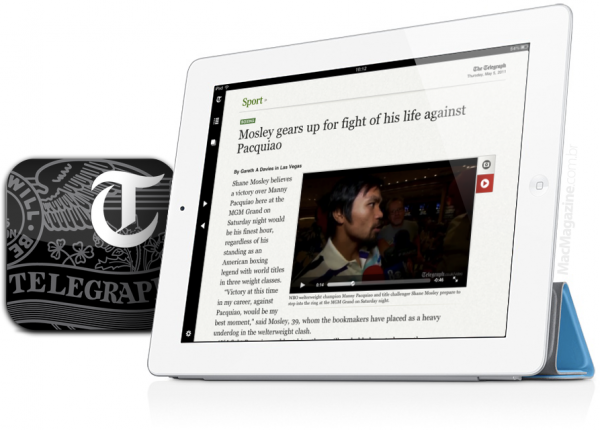 The Telegraph no iPad