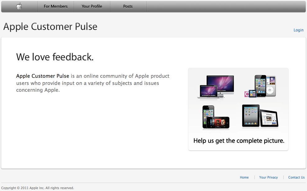 Apple Customer Pulse