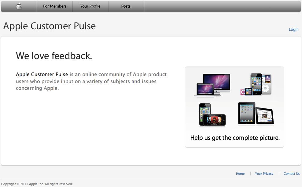 Apple Customer Pulse