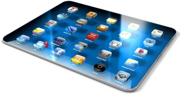 Mockup 3D do iPad