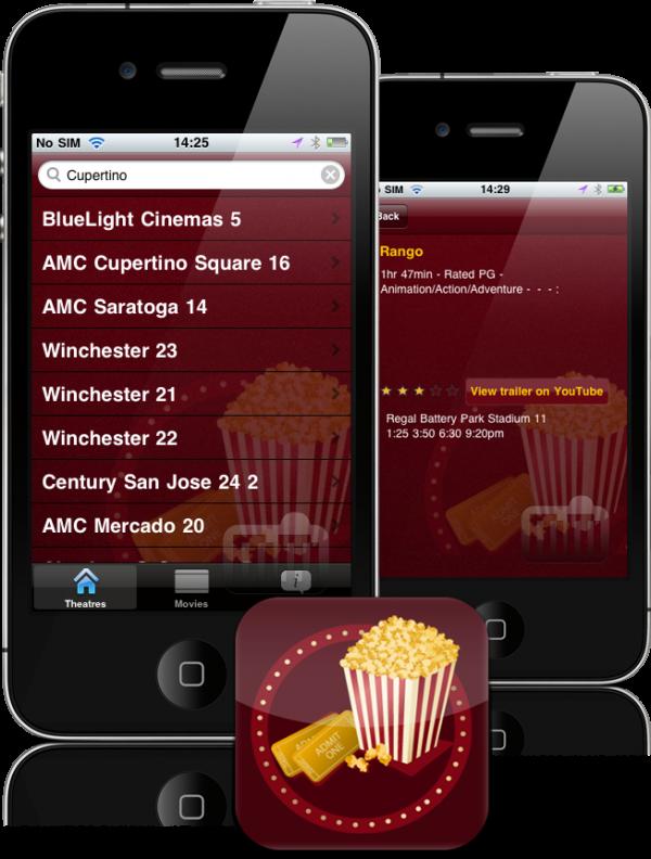 Pocket Movie em iPhones
