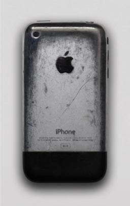 iPhone original após três anos de uso