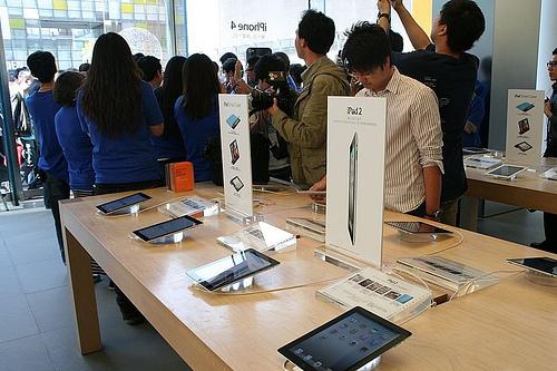 Lançamento no iPad 2 na China