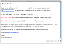 TextExpander - Mac OS X