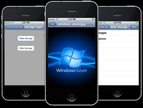 Windows Azure Toolkit para iOS
