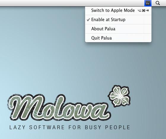 Palua - Mac OS X