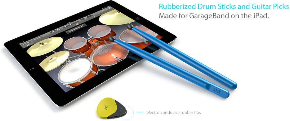 Pix & Stix para GarageBand
