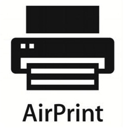 Símbolo do AirPrint
