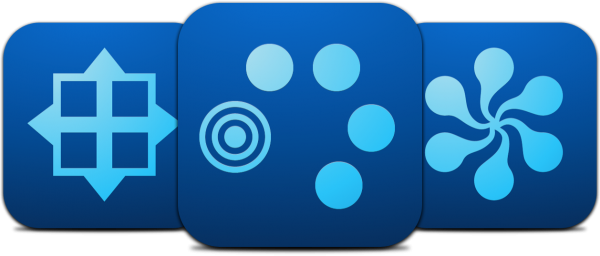 Ícones dos novos apps da Adobe