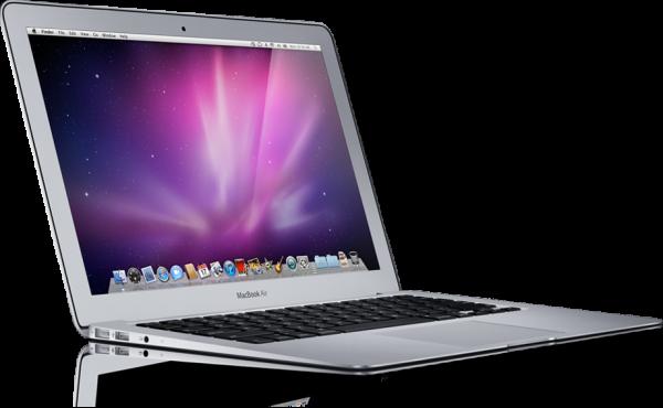 MacBook Air de lado