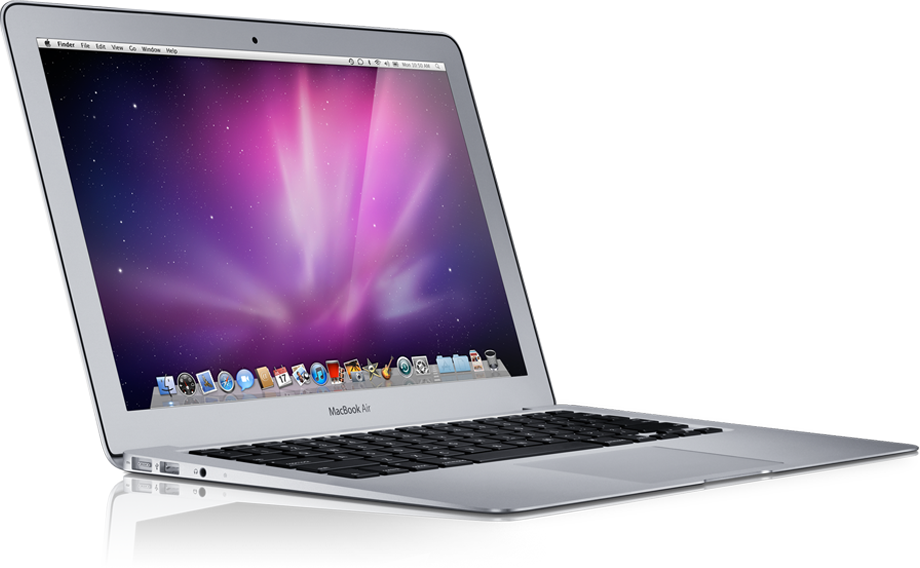 MacBook Air de lado