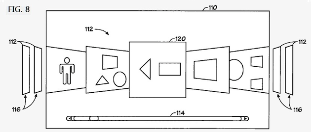 Patente de Cover Flow