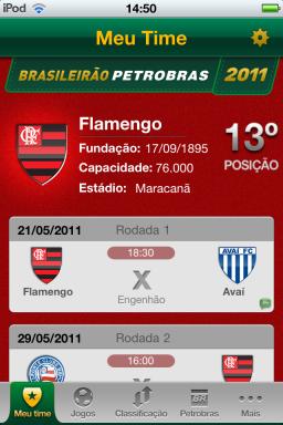 Brasileirão - iPod touch