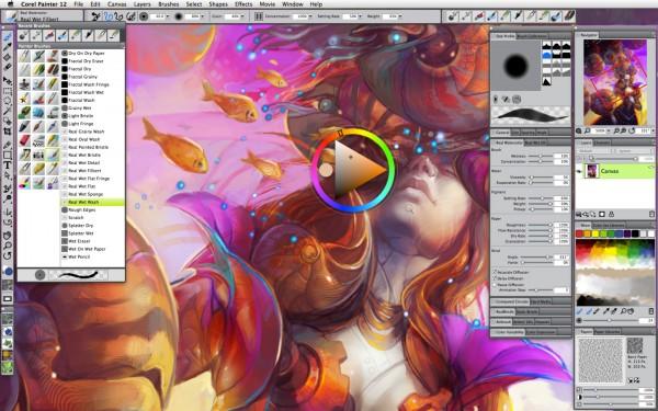 Corel Painter 12 - Mac OS X